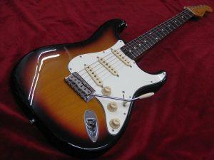 Fender Japan ST62-TX 買取させて頂きました!のサムネイル